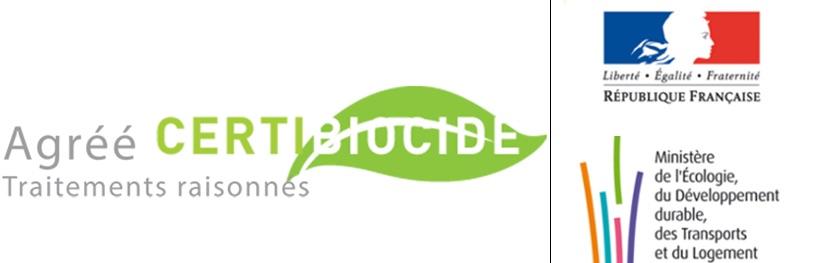 Certibiocide - agrément traitement raisonné